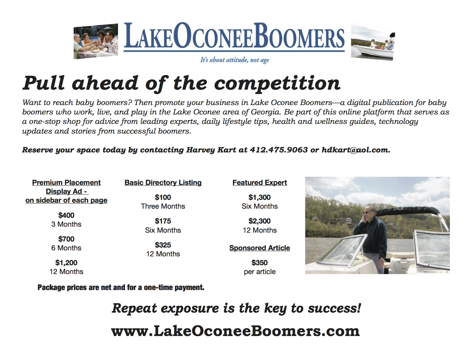 Lake Oconee Ad Rates 4-13-1
