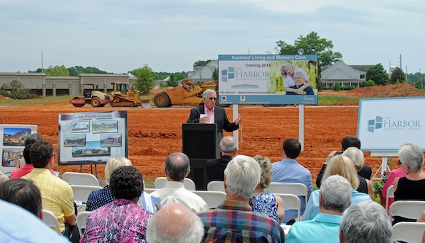 Lowell White, Developer and Principal for The Harbor at Harmony Crossing discusses overview of the planning and development for the new assisted living community