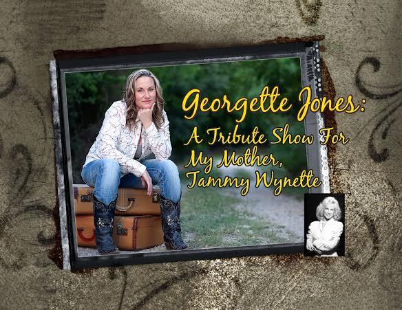 Georgette Jones on the road