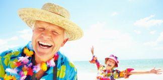 enjoying retirement