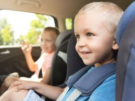 How to Keep Your Car Clean with Grandkids