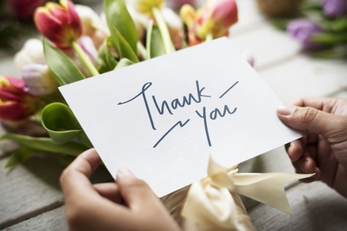 Tips for Writing a Thank You Note