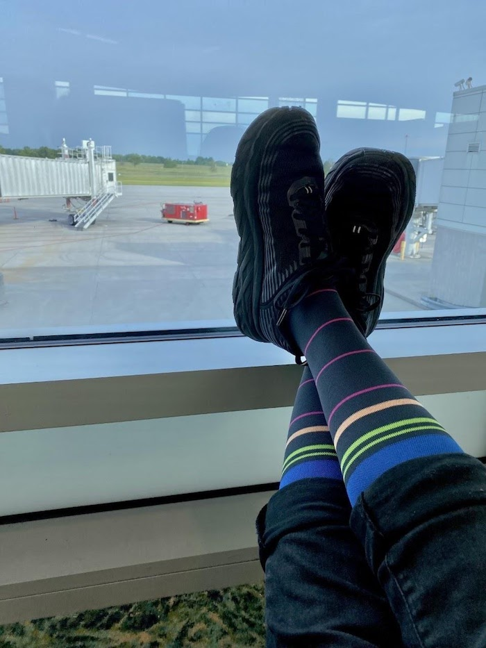 Why Vaccinated People Should Wear Compression Socks